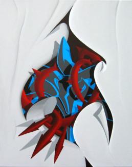 Thorn 3 | 2004 | 40 x 50